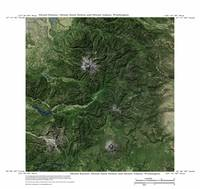 Imagemap of Mt Rainier, Mt St Helens and Mt Adams