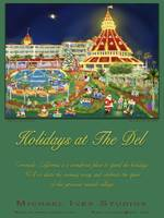 Holidays at The Del, Poster