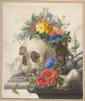 Vanitas Still Life by Herman Henstenburgh
