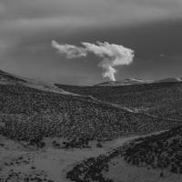 """Steam from geothermal plant, Reno NV"" by jkup"