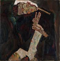 Der Lyriker (The Lyricist) by Egon Schiele (1911)