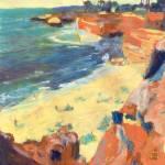 Hazey Day at Sunset Cliffs San Diego by RD Riccoboni