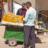 Fruit cart in Alexandria