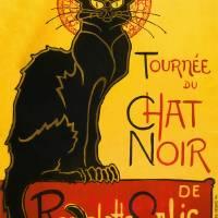 Le Chat Noir The Black Cat Art Nouveau Vintage Art Prints & Posters by Art Pictures