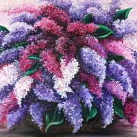 LILAC TIME Art Prints & Posters by KARIN DAWN BEST