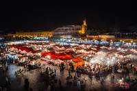 Moroccan Arab market in Marrakech