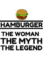 HAMBURGER THE WOMAN MYTH LEGEND