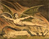Satan Exulting over Eve by William Blake (1795)