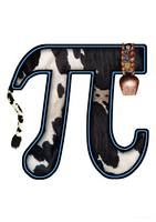 Pi - Pun - Cow pie