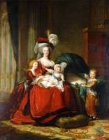 Marie-Antoinette and her Children (1787)