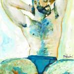 His Thoughts Are Like The Weather - Sexy Man by RD Riccoboni