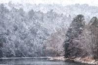 Clarion River Snowstorm (WC)