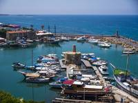 Overlooking Kyrenia Harbour