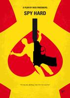 No1135 My Spy Hard minimal movie poster