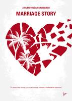 No1159 My Marriage Story minimal movie poster