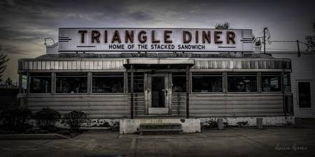 Triangle Diner Home of the Stacked Sandwich
