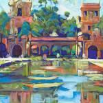 Balboa Park San Diego Reflecting Pond by RD Riccoboni