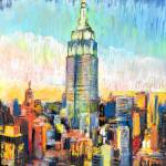 Empire State Symphony New York City by RD Riccoboni