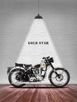 BSA Gold Star Motorcycle