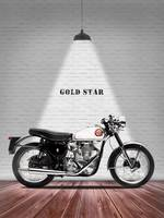 The Gold Star 1954 Motorcycle