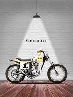 The BSA 441 Victor Motorcycle