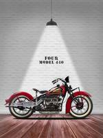 The Indian Four Vintage Motorcycle