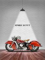 The Sport Scout Vintage Motorcycle