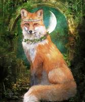 Woodland Forest Fairy Tale Fox