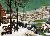 The Hunters in the Snow (winter) by Pieter Bruegel