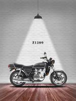 The Classic Kawasaki Z1300 Motorcycle