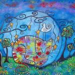 Kitty Dreams II  by Juli Cady Ryan