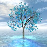 Crystal Blue Tree