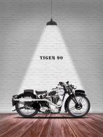 The Tiger 90 Vintage Motorcycle