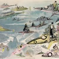Sortie de l'opéra en l'an 2000 Albert Robida Art Prints & Posters by Vintage Posters