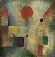 Paul Klee, 1922, Red Balloon