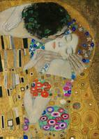 Klimt The Kiss (detail)