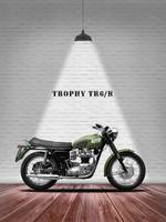 The Vintage Trophy TR6 Motorcycle