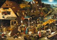 Pieter Brueghel the Elder - The Dutch Proverbs