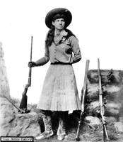 Annie Oakley by NH Rose c1890s