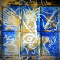 Angel in the Window of the Subconscious Art Prints & Posters by Jessica Bechtel