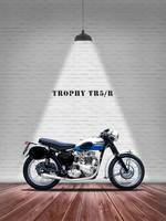 The Trophy TR5R Vintage Motorcycle