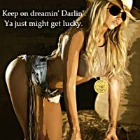 Sexy Cowgirl Art Prints & Posters by Dave Gafford