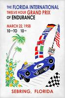 The Florida International Grand Prix Poster