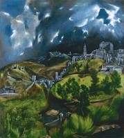 View of Toledo by El Greco (1599)