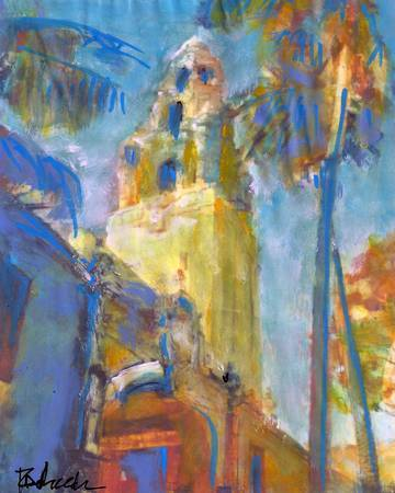 Balboa Park San Diego Tower Picture