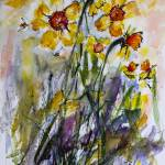 Hope of Spring to Come Daffodils Watercolors Prints & Posters