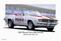 1969 Chevrolet Camaro SS 'Official Pace Car'