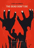 No1172 My The Dead Dont Die minimal movie poster