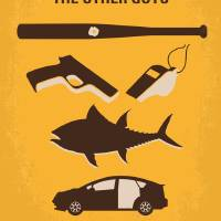 """""""No1173 My The Other Guys minimal movie poster"""" by Chungkong"""