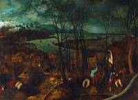 The Gloomy Day (early spring) by Pieter Bruegel th